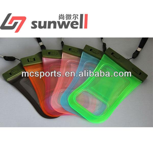 Hot sale alibaba color waterproof bag for iphone