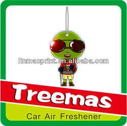 Hot sale paper spray air freshener for car/msds spray air freshener msds Y123