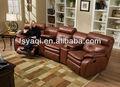 Moden design vip. électrique. inclinable. 602-2 sectional sofa en cuir