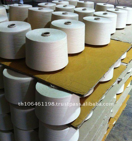 Tailandia 100% de algodón peinado hilado para tejer