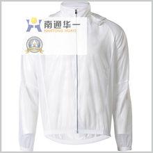 light weight rain stop transparent cycling jacket
