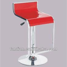 hot sale modern red ABS swivel lift bar chair