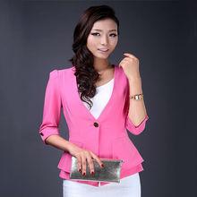 2013 lady high fashion blazer