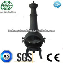 Patio Outdoor Chimney Fireplace,portable fire pit Backyard Firewood Chiminea, New
