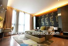 Modern Stripes Design Handtufted carpet for hotel president room