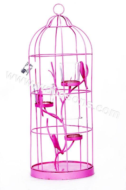 Jaulas de aves decorativas para bodas de metal de color - Jaulas decorativas zara home ...