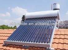 vacuum tube solar hot water heater system
