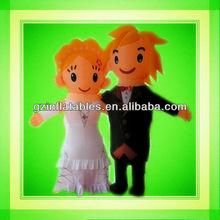 wedding couples inflatable model cartoon