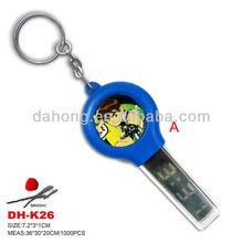 2014 promotional key shaped digital keychain watch