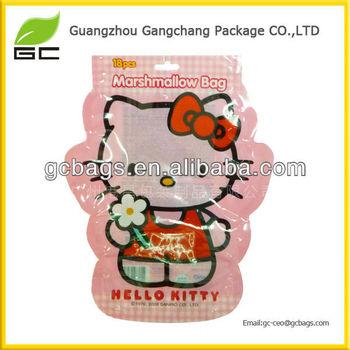 new fashion manufacturer plastic bag for food packaging