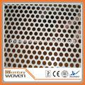 las fábricas de china para la venta de bajo precio de aluminio hoja de metal perforado
