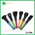 2014 caliente de la venta de plástico de silicona utensilios de cocina