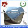 Custom made eco-friendly plastic hdpe die cut bag for shopping