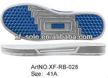 2013 special design latest men rubber shoe sole