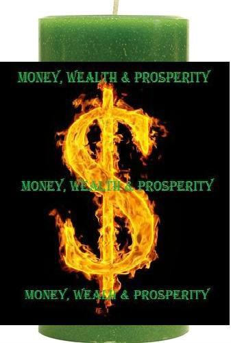 Wealth, Prosperity & Money Candle