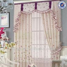 2014 más nuevos patrones de cortina floral cortinas ya hechas cortinas de sala de estar curtian impreso cenefa patrones de cortina