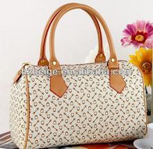 2015 office ladies fashion Elegant pu leather tote/shoulder handbag