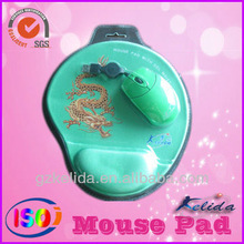 customize mouse mat mouse pad combo set silicone PU hot sale gift