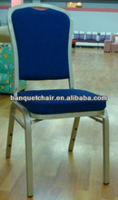 Velvet stacking chair for ding with mould seat cushion FD-862-2