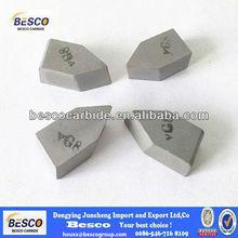 2013 hot and popular cemented carbide brazed tips K30 K10 k20 carbide tip