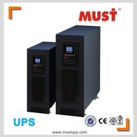 Online ups 6kva 10kva 15kva 20kva dsp base transformer-less igbt and pfc tech