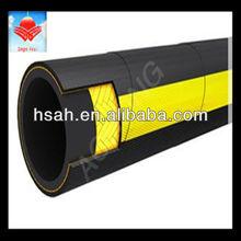 Sae 100r5 single wire braid, textile covered hydraulic hose