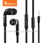 Best selling noise cancelling free sample stereo earphone for MP3
