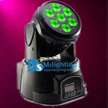 High power 7x12w mini moving head led stage light