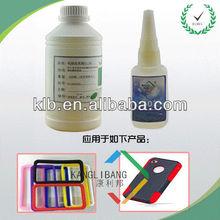 Clear durable Silicone Super Glue 601 bond cured silicone rubber to cured silicone
