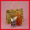 Customized shopping pattern bags gift plastic bags packing bags