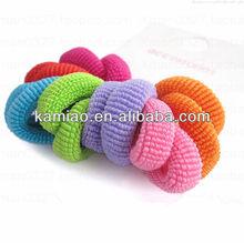 wholesale elastic rubber band hair ties girls hair balls