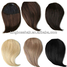 Best selling 5a human hair bang with top quality