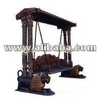 wooden decorative swings