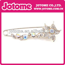 wholesale 2013 Elegant jewelry crystal Rhinestone brooches & hijab pins in bulk