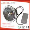 Single light 220v led lamp ar111 g53 ar111 cob led light ar111 spot light