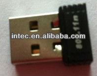 Mini usb wifi adapter 802.11N USB 2.0 wireless adapter 802.11n wifi usb adapter