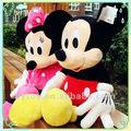 Mickey mouse mascote de pelúcia fábrica de brinquedos, mickey minnie mouse