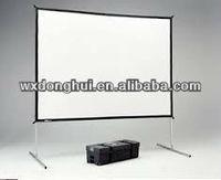 Portable Aluminium Easy Fold Projection Screen