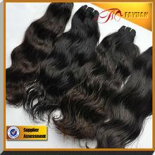 14-36 inch human braiding hair most fashionable 100% real Peruvian Natural Wave Weave