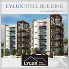 Green apartment building design luxury prefabricated steel apartment