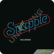carta snapple caliente de la venta de diamantes de imitación de transferencia