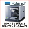 ROLAND ENGRAVER AND IMPACT PRINTER - Roland MPX-90 - FREE DELIVERY - PROTECH CNC - *SHIPS TO AUSTRALIA ONLY*