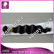 Unprocessed deep wave 100% Virgin Burmese hair weave
