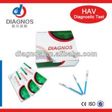 Rapid HAV test Kits/medical diagnostic (whole blood)