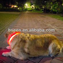 Popular nylon led dog collar pet product manufacturer
