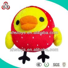 super soft fabric cute plush yellow chicken toys
