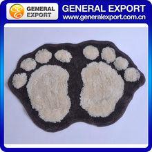 High hair big foot type 57*37cm cotton floor mat