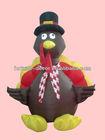 120cm high Halloween inflatable turkey