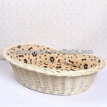 wicker basket for pets