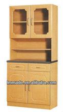 small design panel kitchen cupboard furniture(100807-2)